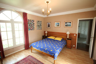 Photo: Bedrooms are large. Well lit. And have good shutters to keep out the heat if necessary.