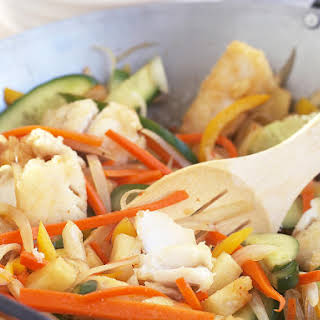 Sweet and Sour Fish Stir-Fry.