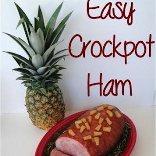 Easy Crockpot Ham