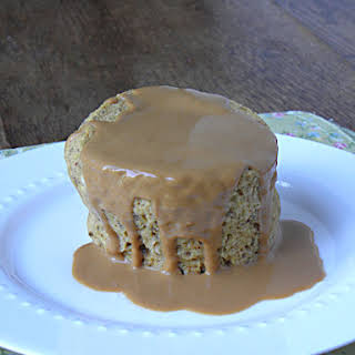 Peanut Butter Flax Single Serving Muffin.