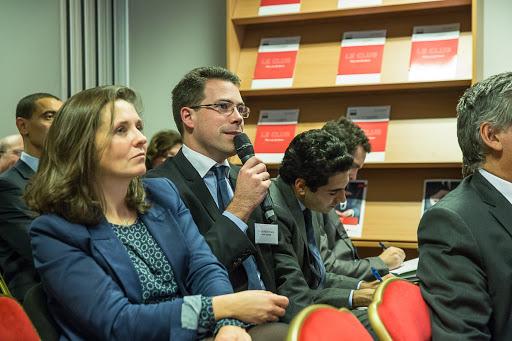 Club les echos débats avec François Pérol, Président du directoire de la BPCE