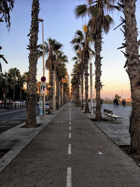 Barceloneta - ścieżka rowerowa