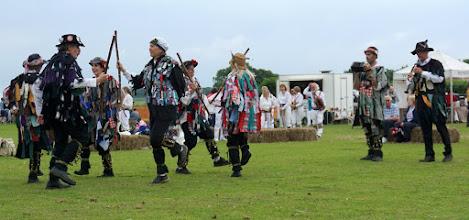 Photo: HELSINKI TURN TO A BORDER MORRIS DANCE