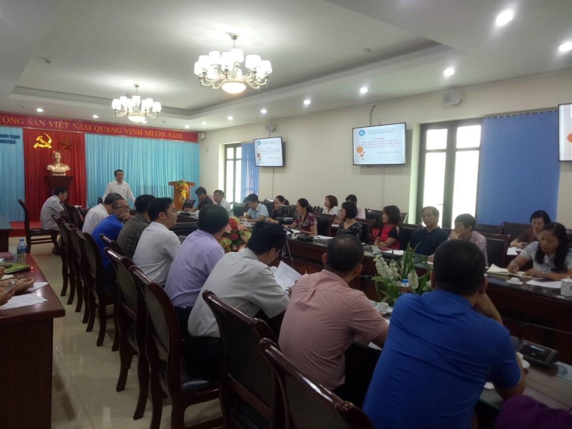 Hội nghị tổng kết công tác thanh tra, phòng chống tham nhũng năm học 2018-2019, phương hướng năm học 2019-2020