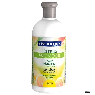 crema corporal bio nutrix citrus wonder 500ml