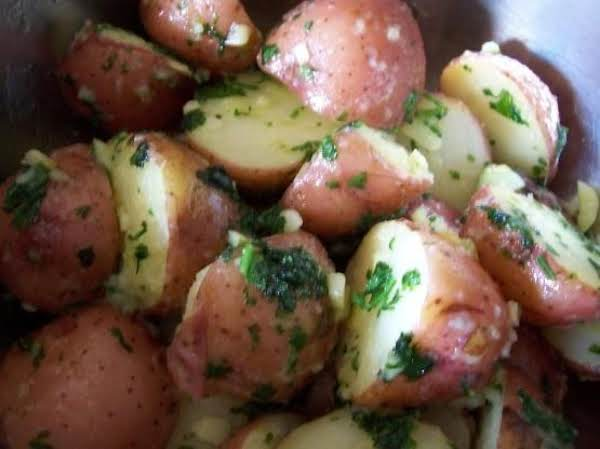 Parsley New Potatoes Recipe