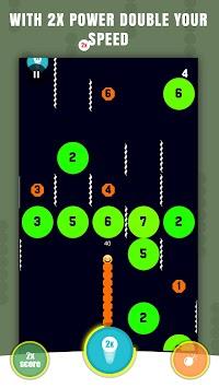 Slither vs Blocks apk screenshot