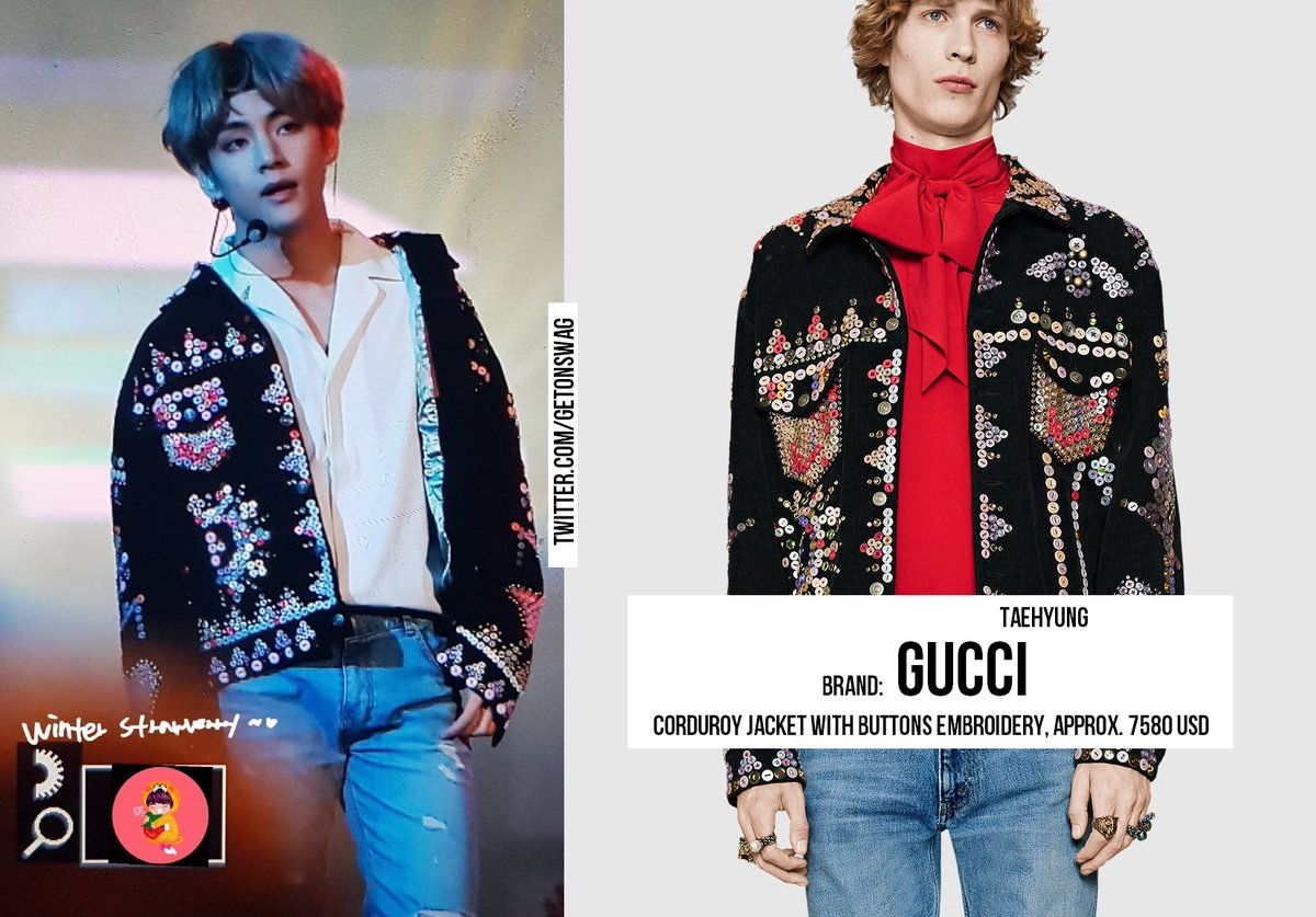 Hereu0026#39;s All The Gucci BTS Wore At Their AMA Performance - Koreaboo