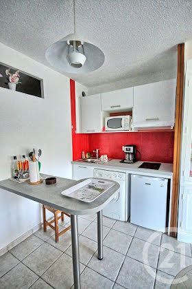 Location studio meublé 26,24 m2