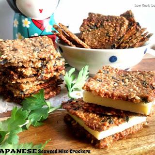 Japanese Seaweed Miso Crackers