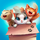 Meow Match: Cats Matching 3 Puzzle & Ball Blast icon