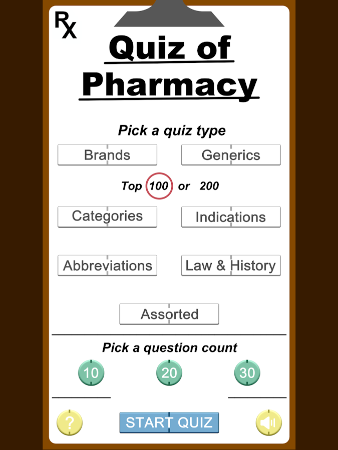 RX Quiz of Pharmacy- screenshot