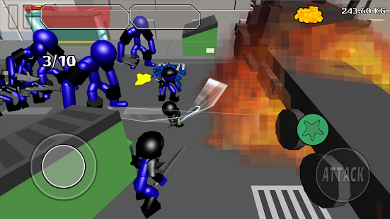 Stickman Sword Fighting 3D Screenshot