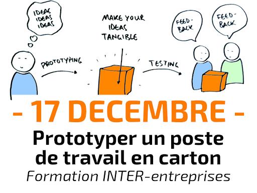 Formation Prototyper un poste de travail en carton avant d'investir - INTER-entreprises lean