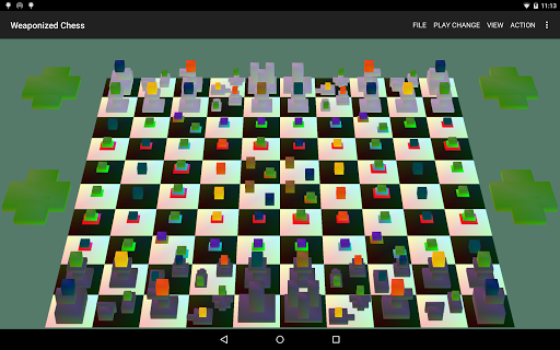Weaponized Chess:chess+weapons hack tool