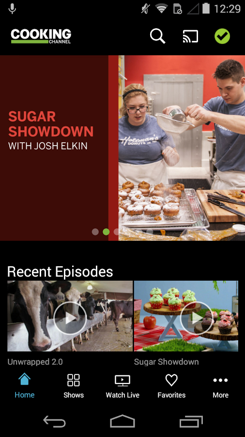Watch Cooking Channel- screenshot