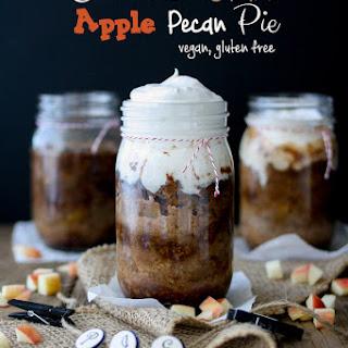 Cinnamon Caramel Apple Pecan Pie