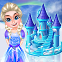 Ice Doll House Design Games icon