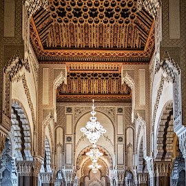 Inside the Mosque by Richard Michael Lingo - Buildings & Architecture Other Interior