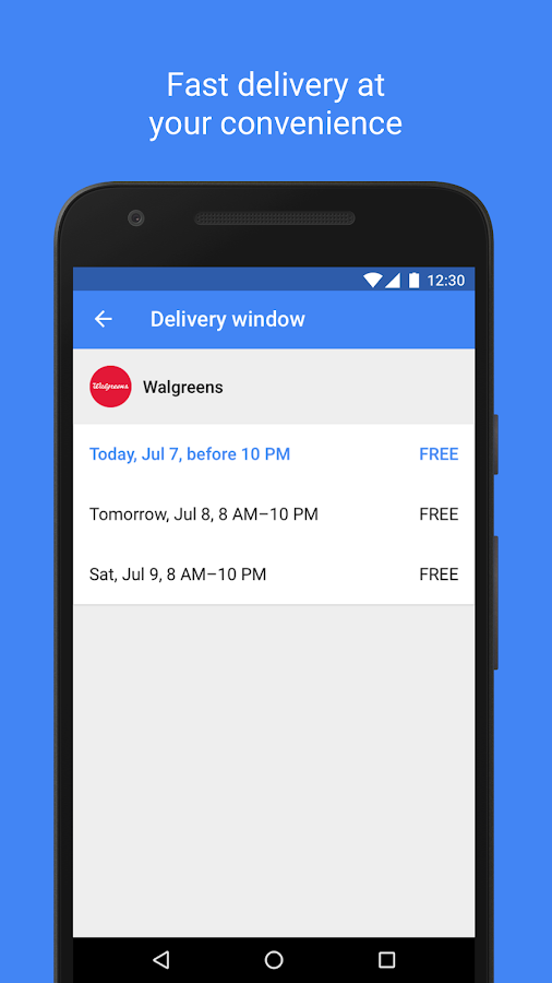 Google Express: Shopping, Deals, Fast Delivery- screenshot