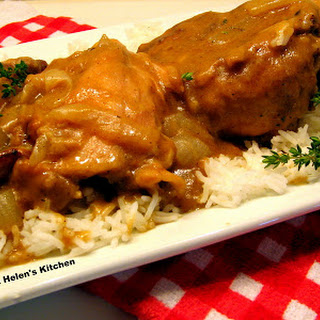 Southern Smothered Chicken.