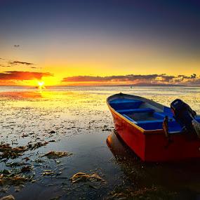 Stand By by Hendri Suhandi - Transportation Boats ( bali, sanur, landscape )