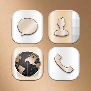 Special-Gold Iconpack v1.0 APK