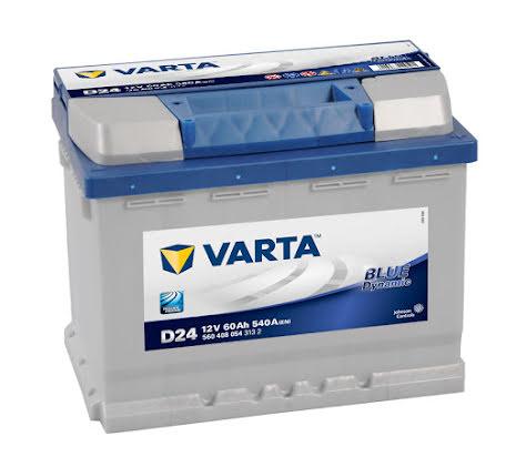 Startbatteri Varta Blue Dyn.12V/60Ah D24