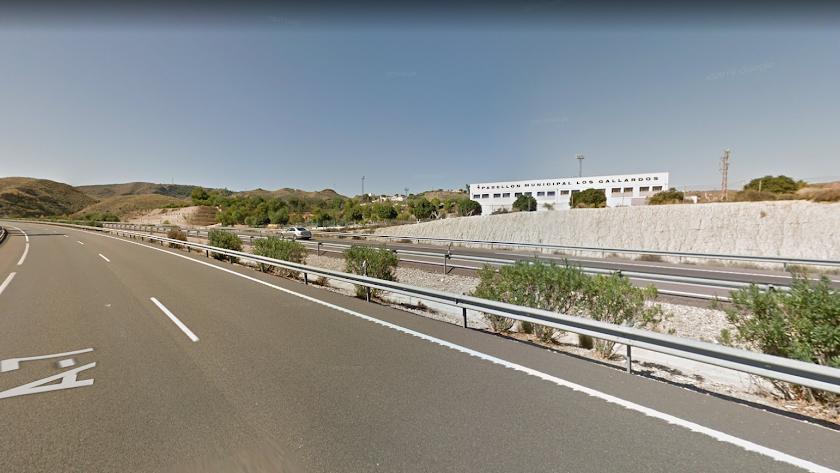El accidente se ha producido en la A7 a su paso por Los Gallardos.
