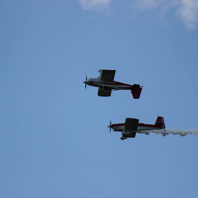 Airshow by Jason Roe - Transportation Airplanes ( flying, site and studio, plane, stunt, airshow )