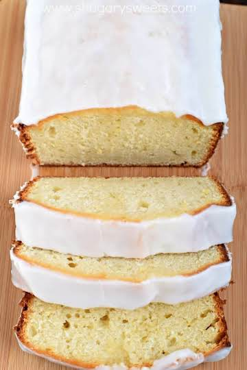 Copycat Starbucks Lemon Loaf - Shugary Sweets