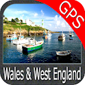 Wales and West England GPS icon