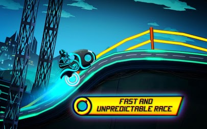 Bike Race Game: Traffic Rider Of Neon City APK screenshot thumbnail 2