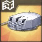 試製152mm三連装砲T0