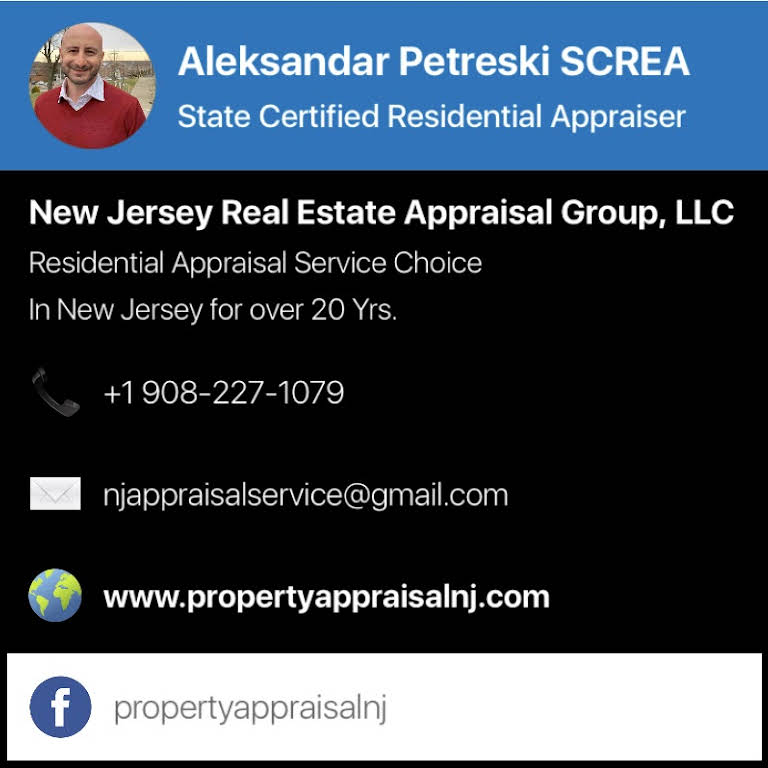 New Jersey Real Estate Appraisal Group Llc Property Appraisal Nj
