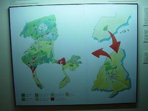Photo: Mapa de situación del Parque Regional y diferentes zonas de protección