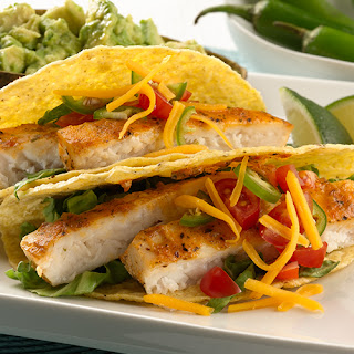 Gluten Free Grilled Tilapia Tacos.