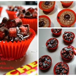 Cherry Ripe Mudcake Cupcakes