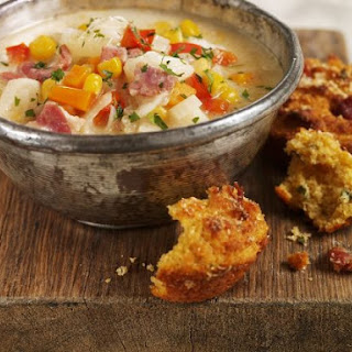 Quick Corn and Bacon Chowder
