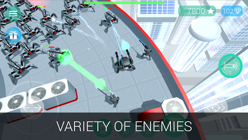 CyberSphere: SciFi Shooter  screenshots 5