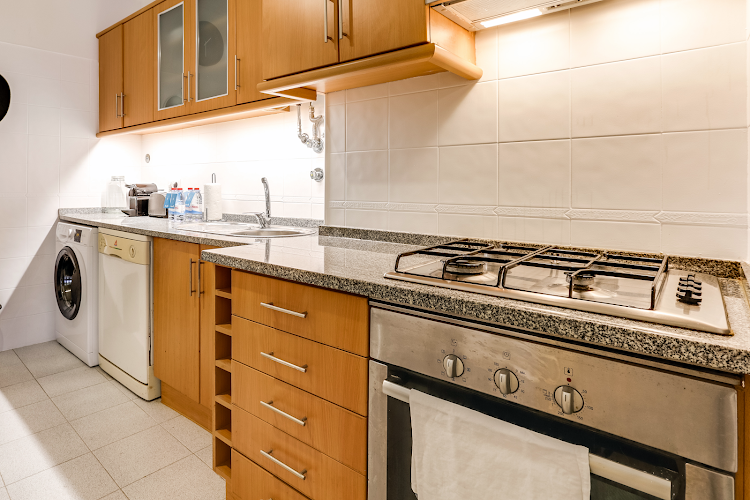 Fully equipped kitchen at Santa Marta Typical
