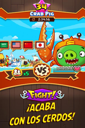 Angry Birds Fight! para Android