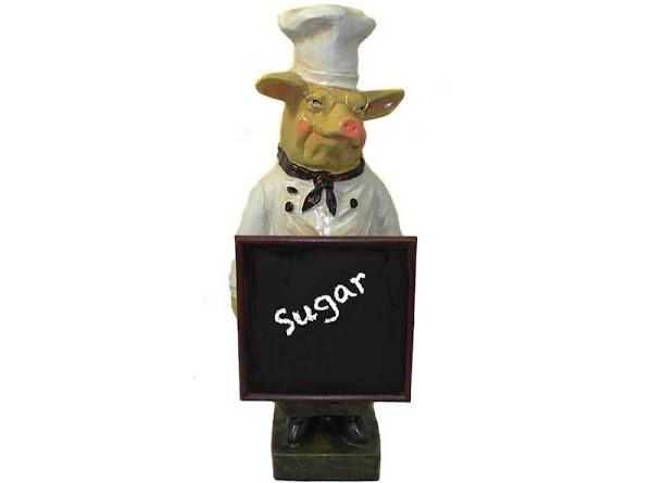 Sugar, granulated white1 cup - 7oz - 198.5gGranulated sugar is white refined sugar, made...