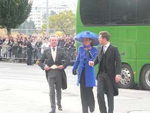 Photo: Edouard Vermeulen, Princess Isabelle and Prine Wenzel of Liechtenstein