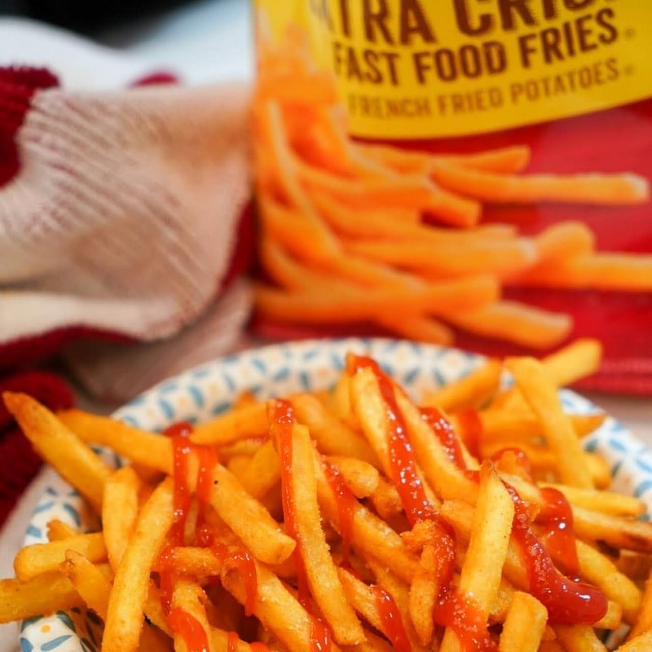 Frozen French Fries Air Fryer