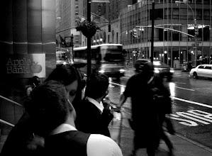 Photo: Romance in Rainy New York City