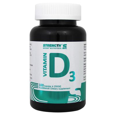 Strength D-Vitamin 100 kapslar