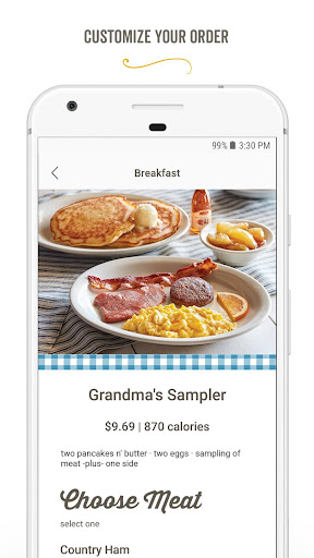 Screenshot for Cracker Barrel in United States Play Store