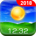 Real-time weather report & forecast icon