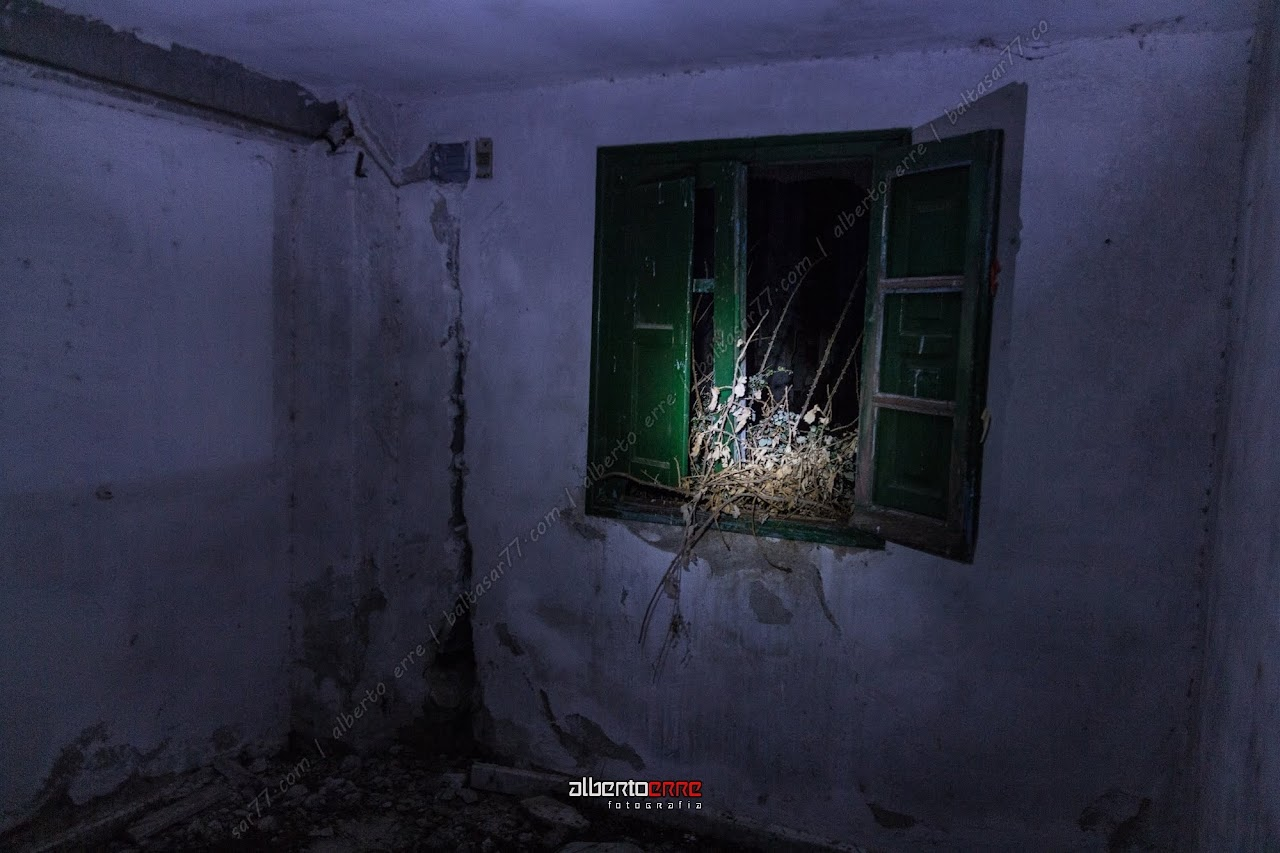 fotografia nocturna abandonos